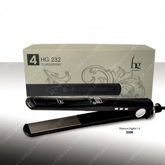 hg 232 Titanium Digital 1.0 Piastra